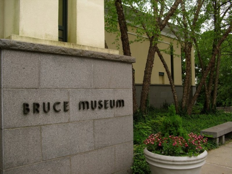 Exterior of the Bruce Museum, Greenwich, CT