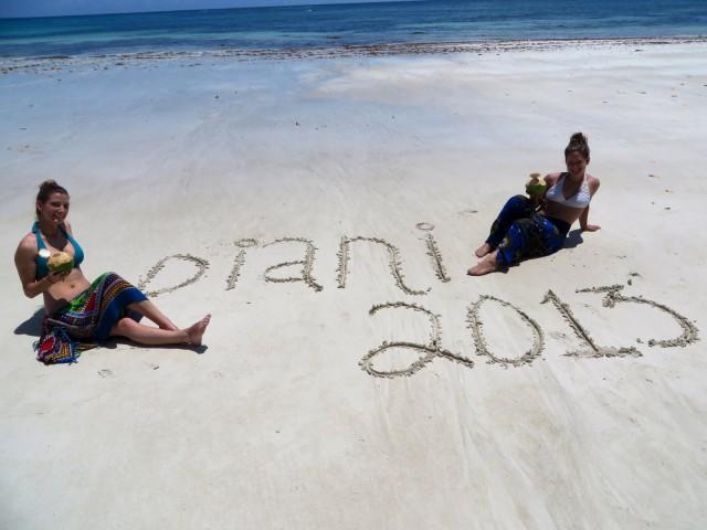 Celebrating Diani Beach, Kenya