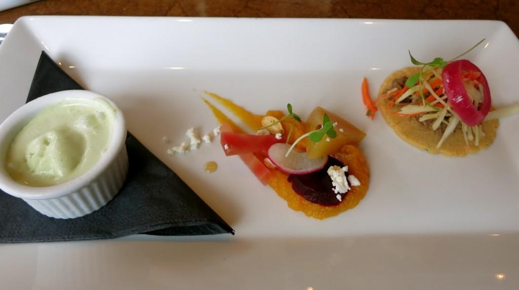 Small bites at Saison Restaurant, Richmond VA