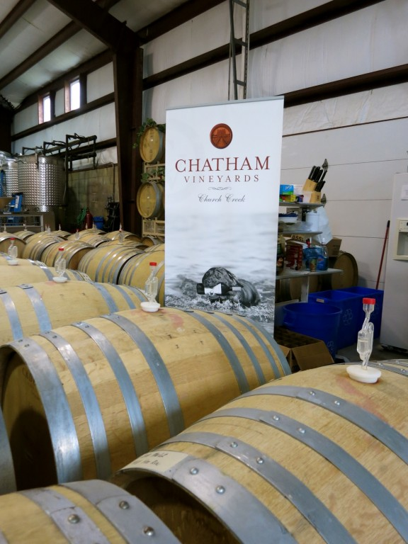 Chatham Vineyards, Eastern Shore, Virginia