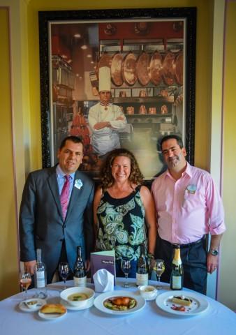 Jerry McVey-Sandra Foyt - Francesco Santin   French Regional Lunch   Epcot International Food & Wine Festival