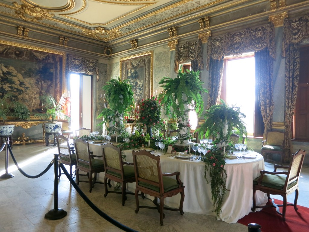 Dining room at Staatsburgh Mansion, Staatsburgh NY