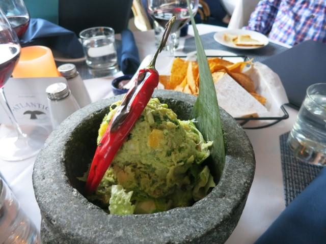 Crabmeat Guacamole, Atlantic Restaurant, Edgartown Marthas Vineyard MA