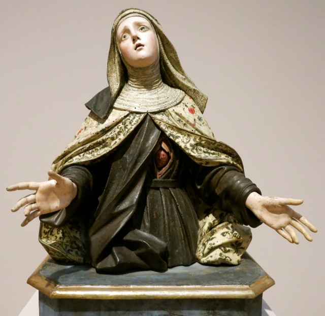 Davis Museum, Wellesley College, Francisco Alcaraz's Saint Teresa of Avila