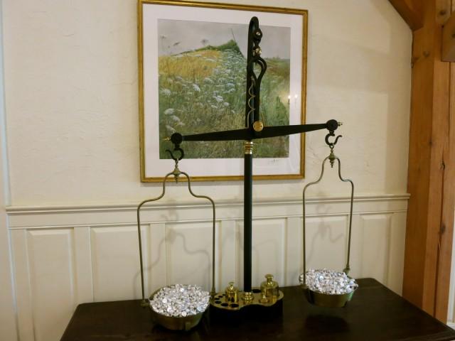 Unlimited Hersheys Kisses at Reception Inn at Montchanin Village, DE
