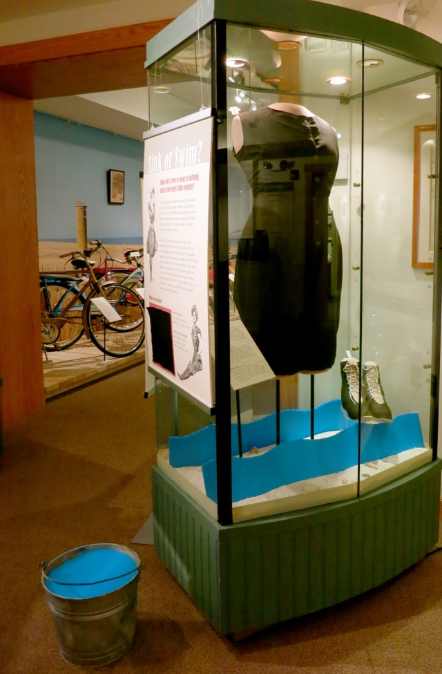 How much does an old fashioned bathing suit weigh? Find out at Rehoboth Beach Museum