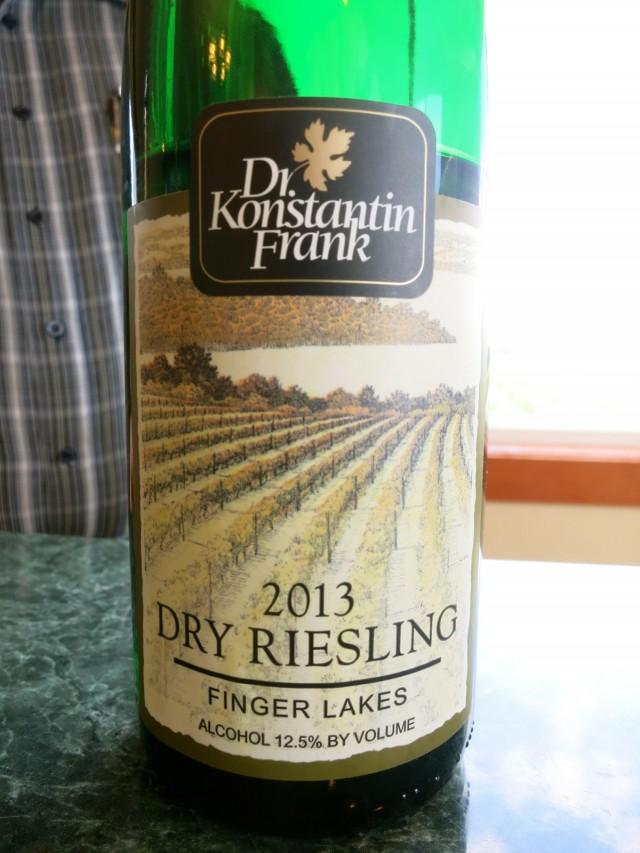 Dr. Konstantin Frank 2013 Dry Riesling