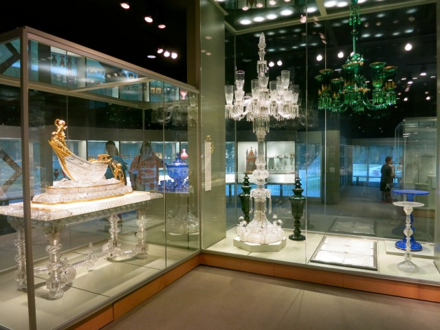 Extravagant Glass Furniture, Corning Museum of Glass, Corning NY