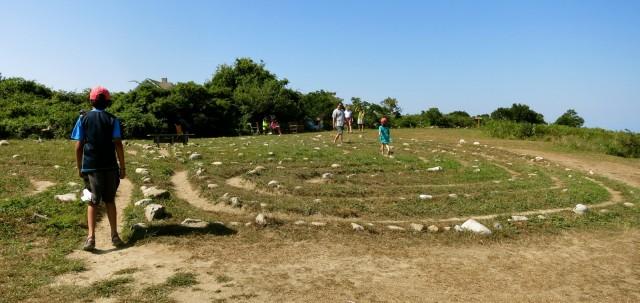 Sacred Labyrinth, Block Island