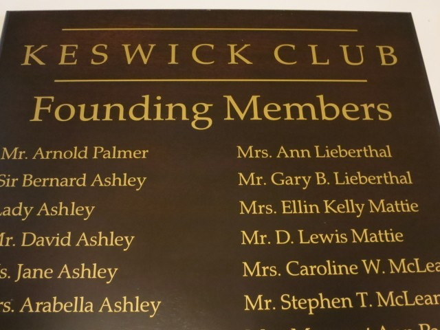 Founding Members of Keswick Club