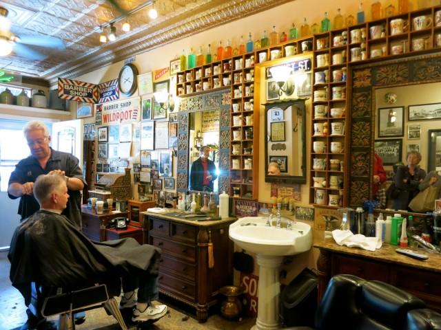 Sals Barber Shop, Pittsburgh