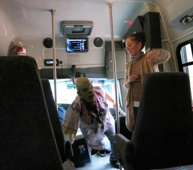Zombie On Board, Pittsburgh Pet Monster