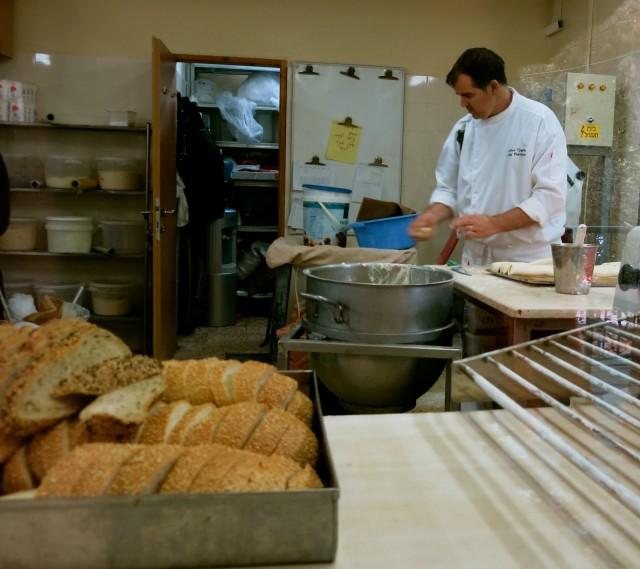 Bread baked fresh daily