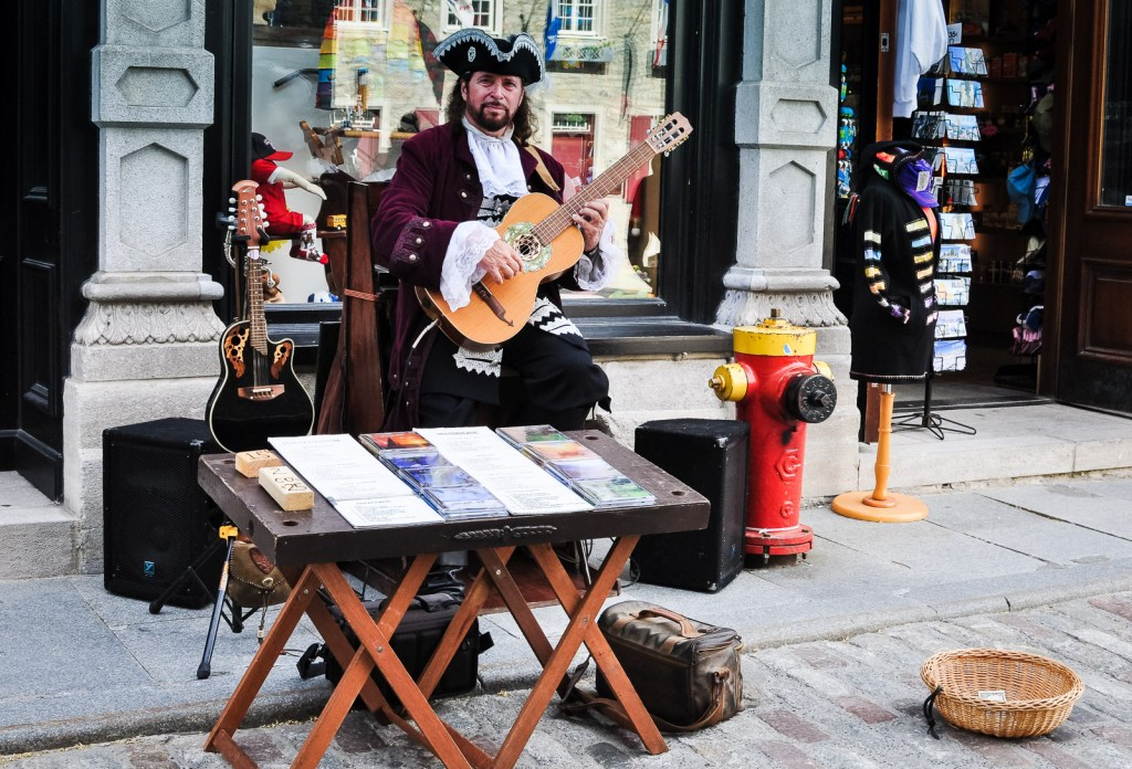 Historic Musician - Quebec City