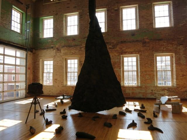 Joseph Beuys Installation at Mass MoCA