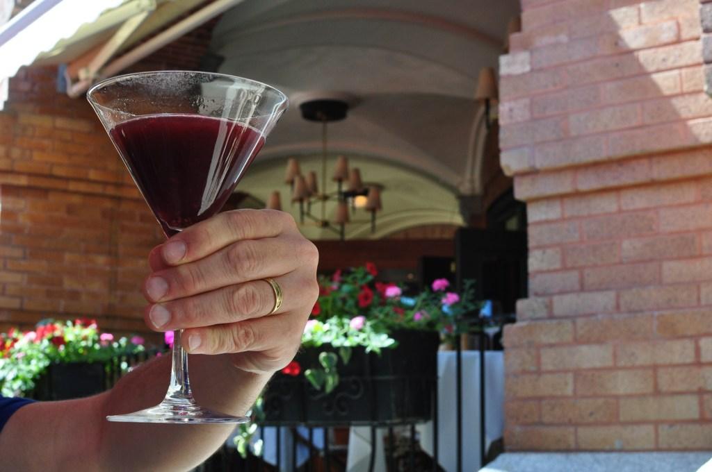 Rasberry Martini - Ristorante Il Teatro - Quebec City