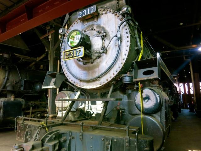 Engine 2317, Steamtown NHS, Scranton PA