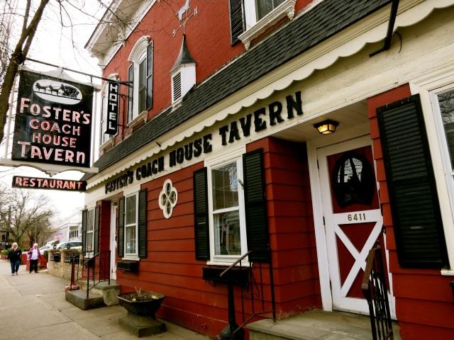 Fosters Coach House Tavern, Rhinebeck