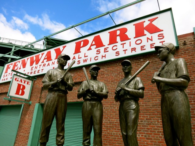 Fenway Statues