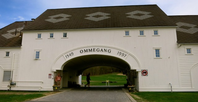 Ommegang Brewery Entrance