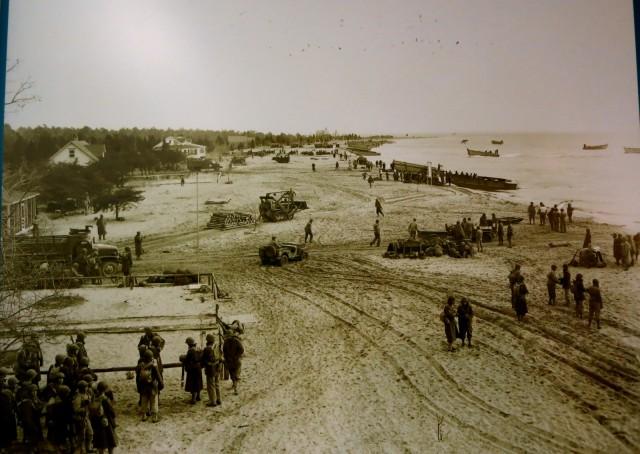 WWII Beach Landing Maneuvers, Calvert Cliffs in Southern MD