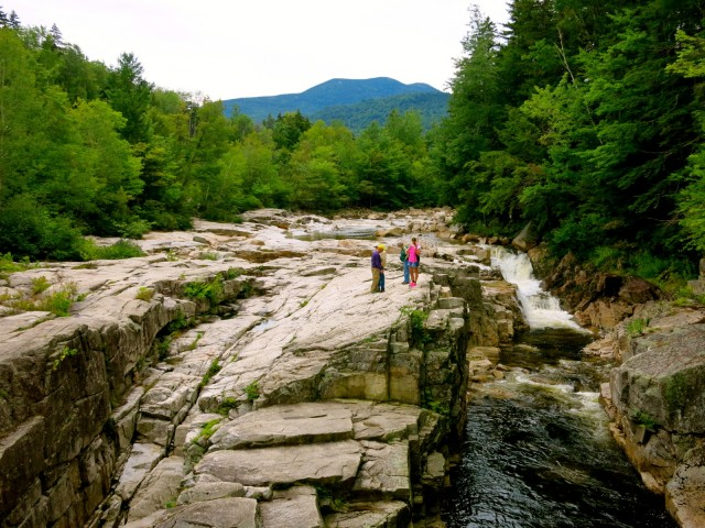 Lower Falls, White Mountains NH