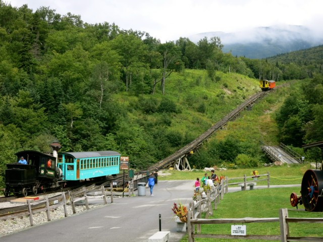 Mount Washington Cog Railway, Bretton Woods NH
