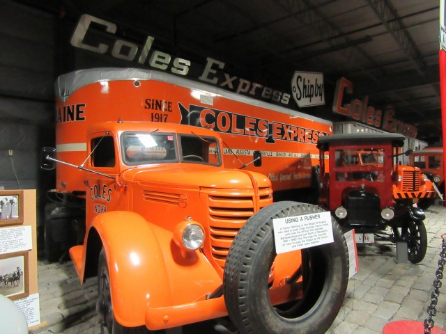 Cole Express Truck, Land Transportation Museum, Bangor ME