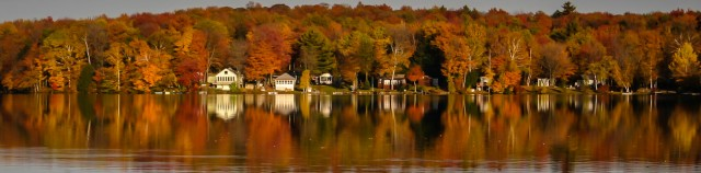 Dyken Pond - Fall Reflections