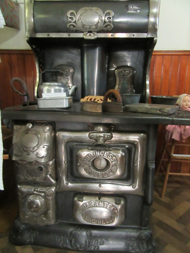 Moosehead Historical Society, Antique Stove, Greenville ME