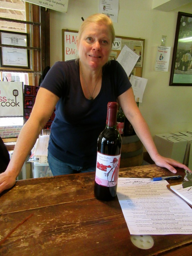 Peggy Raley-Ward, owner, Nassau Valley Winery, Milton DE