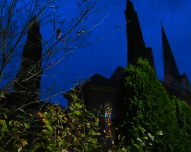 St Peters Church on Lewes Legends Tour, DE