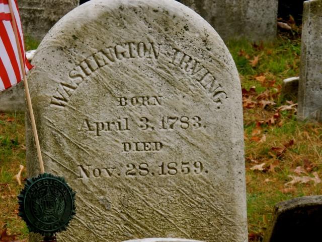 Washington Irving Gravesite, Sleepy Hollow NY