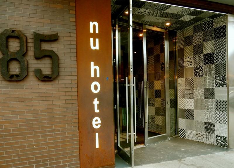 Front Door, NU Hotel Brooklyn NY