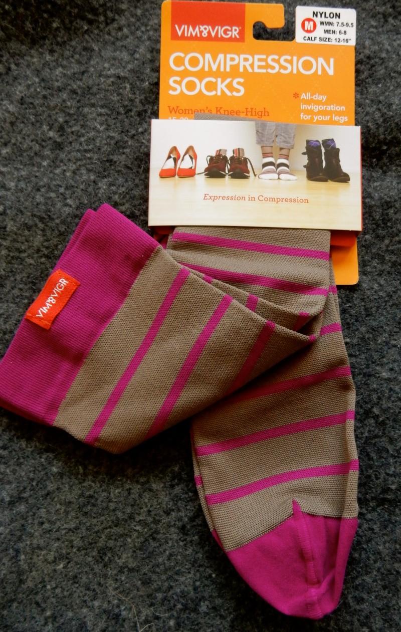Vim and Vigor Compression Socks