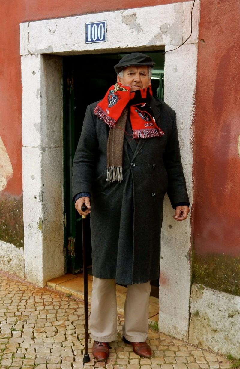 Alfama District Dandy, Lisbon