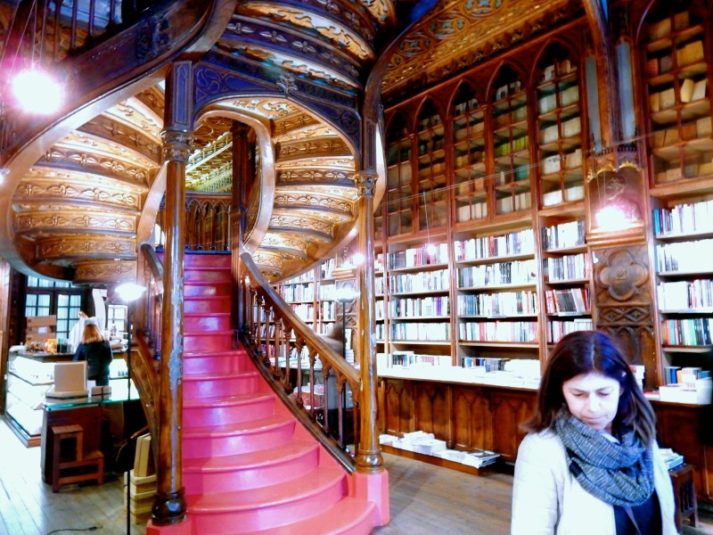 Lello Bookshop, Harry Potter Library, Porto Portugal