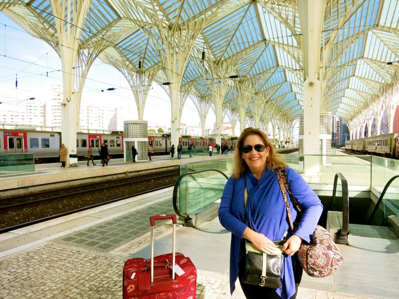 Orient Train Station, Lisbon Portugal