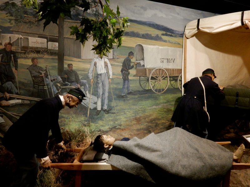 Ambulence Service, National Museum of Civil War Medicine, Frederick MD