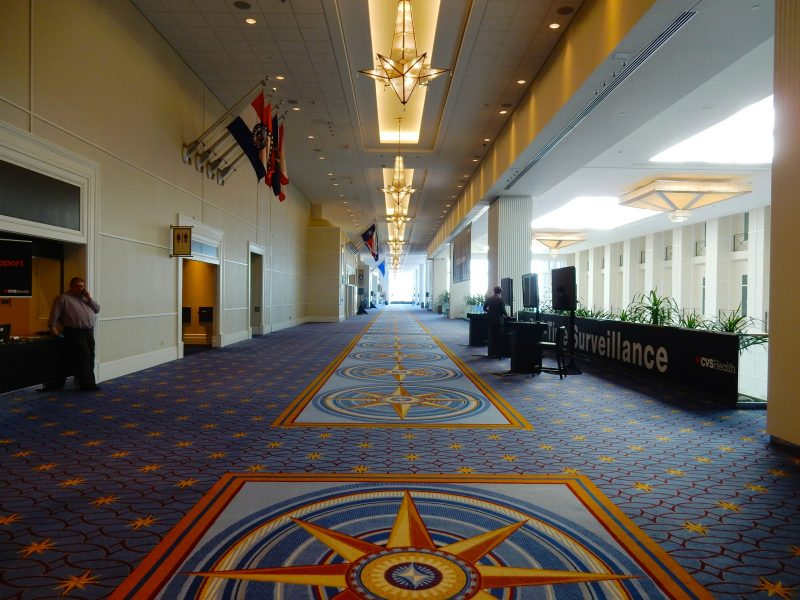 Gaylord National Harbor Conference Center Hallway