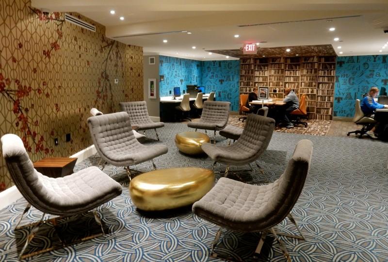 Library, Embassy Row Hotel, Washington DC