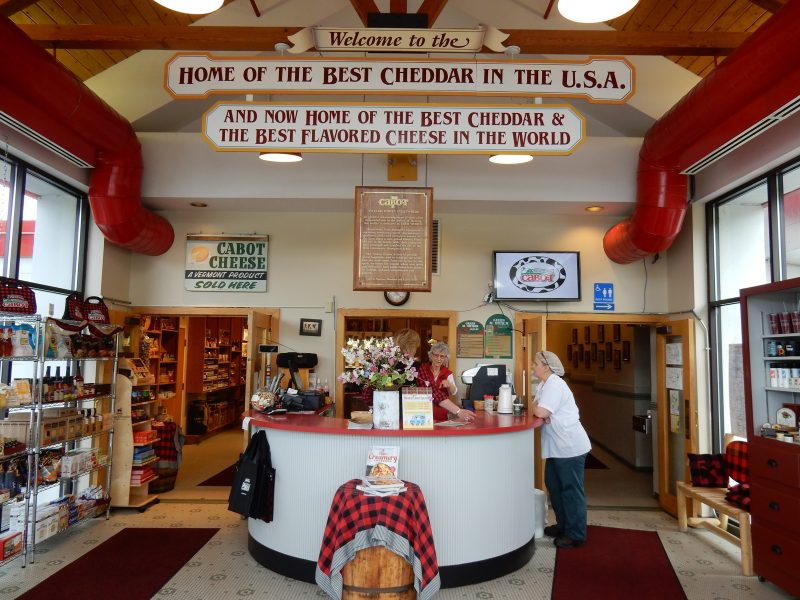 Cabot Cheese Store, Cabot VT