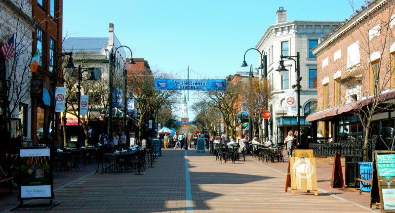 Church St. Pedestrian Mall, Burlington VT