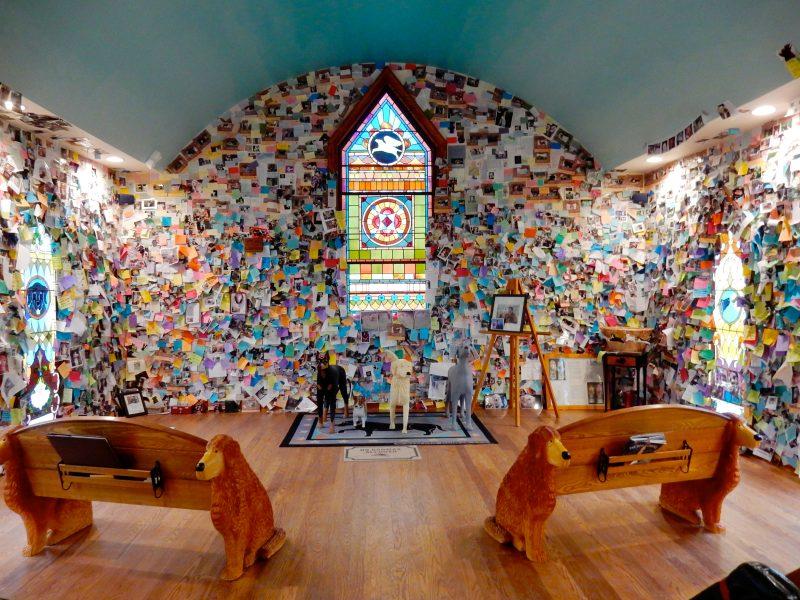 Dog Chapel at Dog Mountain, St. Johnsbury VT