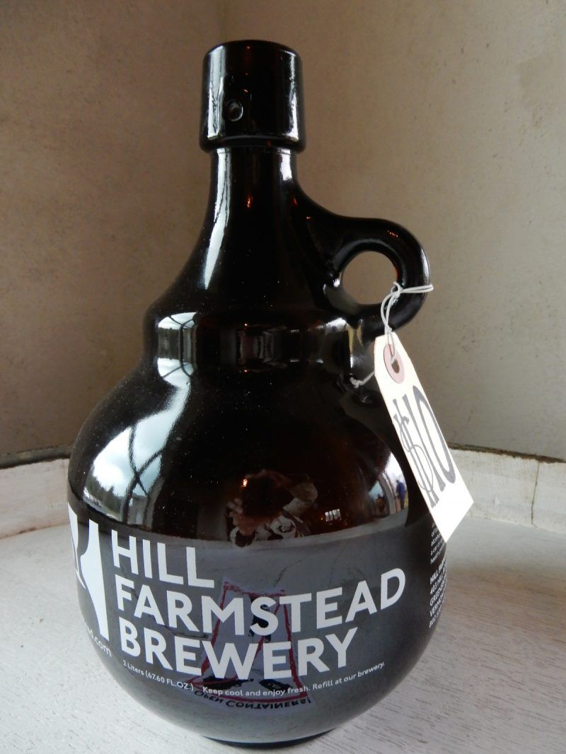 Growler, Hill Farmstead Brewery, Greensboro VT