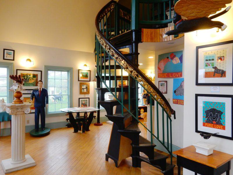 Huneck Gallery, Dog Mountain, St. Johnsbury VT