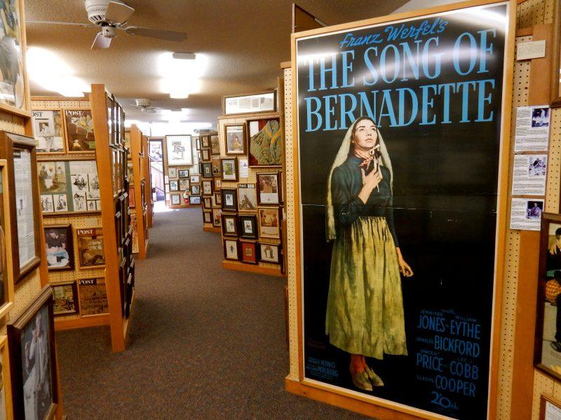 Song of Bernadette Poster, Norman Rockwell Museum, Rutland VT