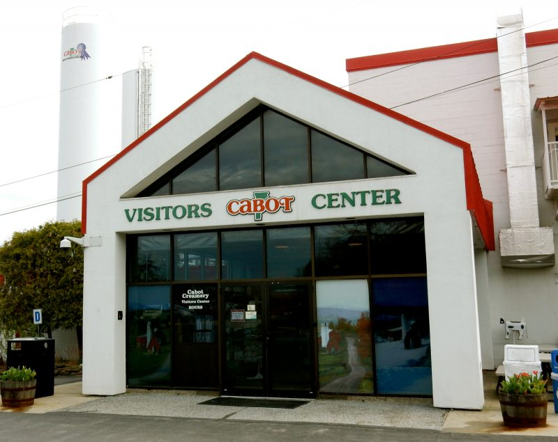 Welcome, Cabot Cheese Factory, Cabot VT - Northeast Kingdom