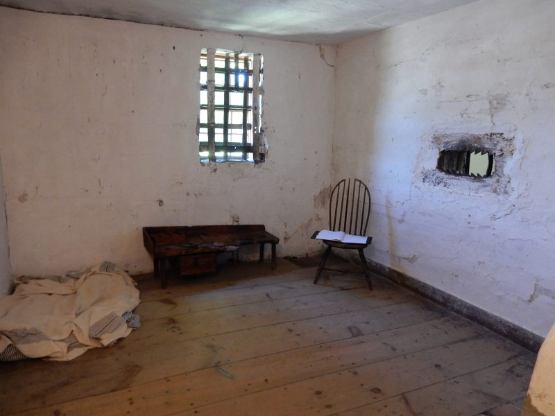 Cell, Old Gaol, York Village ME