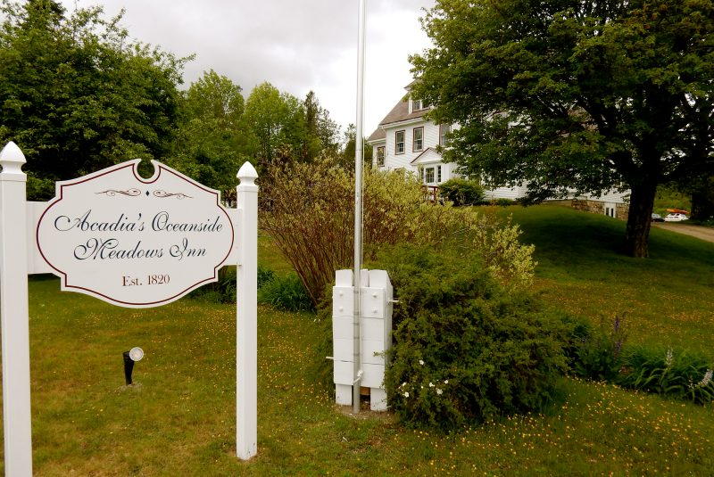 Exterior, Acadia's Oceanside Meadows Inn, Prospect Harbor ME